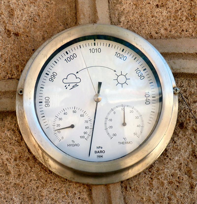 Quand nous vous disions qu'il faisait à la fois froid et sec, ce n'est pas une galéjade : le taux d'hygrométrie annuel est si faible que même les cactus ne parviennent pas à survivre