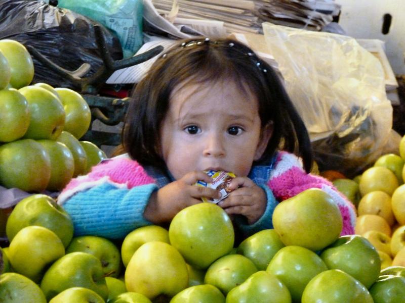 Dernières heures à Sucre al mercado