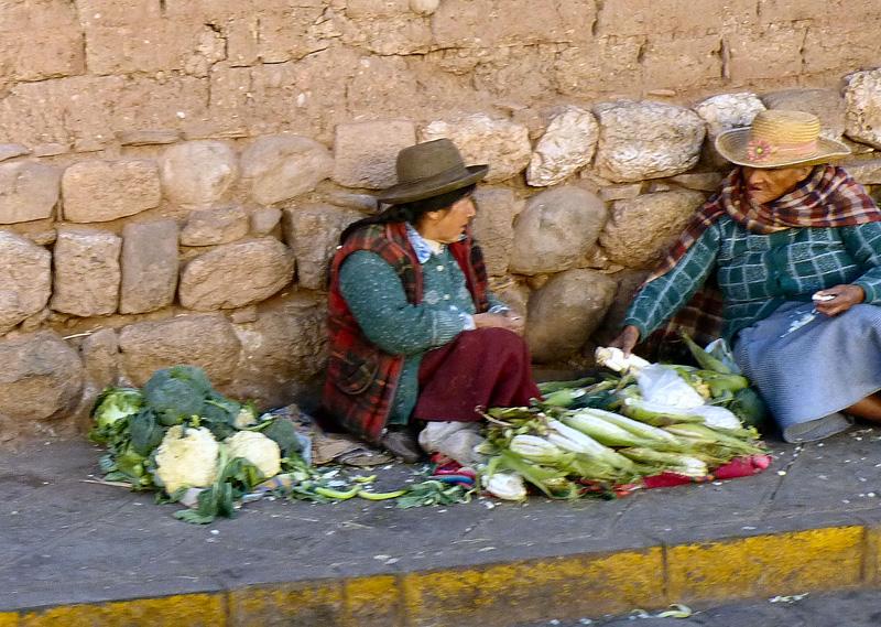 Scènes sur la route de Cuzco