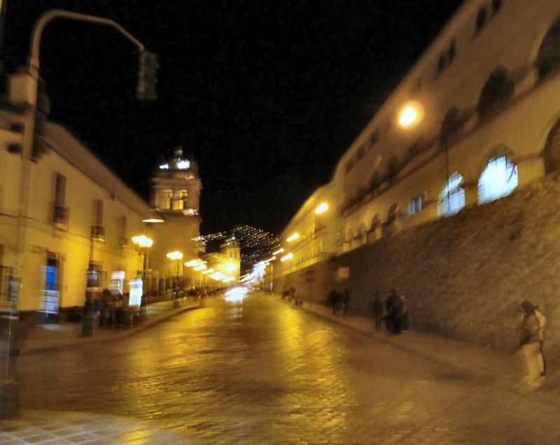 Première soirée à Cuzco