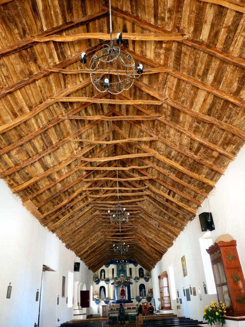 L'église San Francisco, édifiée au cours du XVIIe, est le point focal du village
