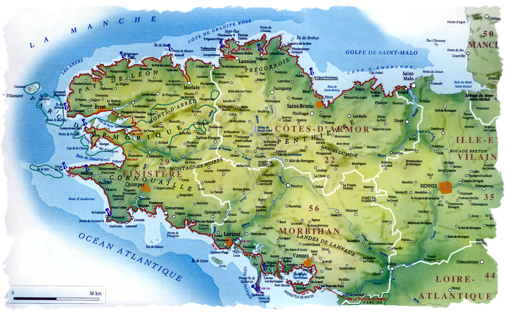 Ile Et Vilaine Noms De Villes